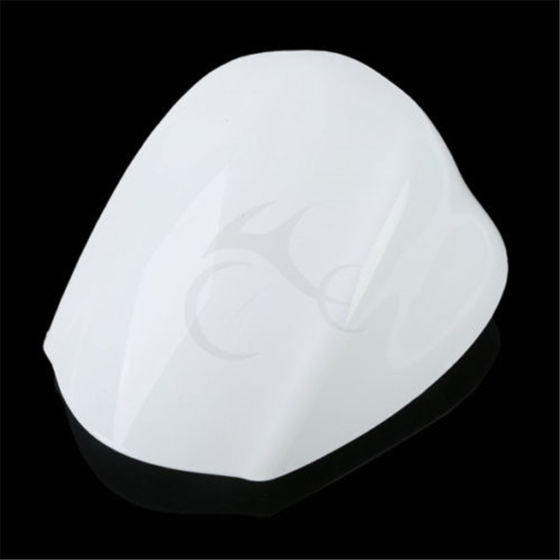 Motorcycle Passenger Rear Seat Cover Cowl Cap For <font><b>SUZUKI</b></font> <font><b>GSXR1300</b></font> <font><b>Hayabusa</b></font> 2008-2014 White Motorcycle Accessories image