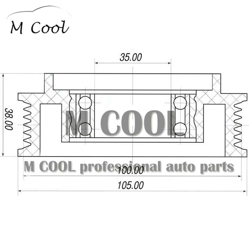 ac compressor clutch pulley for audi a4 8k a5 q5 8k0260810 8k0820810e 8k0260805 4f0260805an 4f0260805ap 8k0260805c  [ 1000 x 1000 Pixel ]