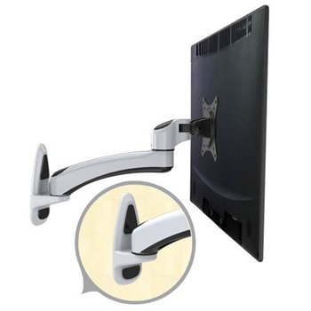 "HONGHUA 15""-27"" LCD LED Monitor Holder Rotary Revolving TV Wall Mount Monitor Holder Ergonomical Arm Max.Load 0-8kgs"