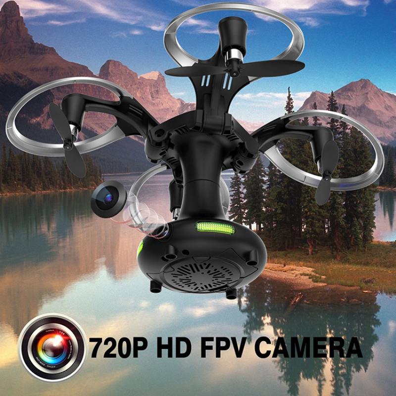 WIFI FPV RC Quadcopter 415-C 2.4G 6-Axis Gyro Remote Control RC Foldable Drone with 480P/720P HD Camera Drone VS H51 XS809W rc drone foldable aircraft helicopter fpv wifi rc quadcopter 2 4ghz remote control dron with hd camera vs visuo xs809w xs809hw