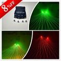 Novo Design Luvas de Laser Verde Com Lasers Vermelhos Para Dancing Stage Show CLUB Party DJ Vermelho Verde Laserman Mostrar Luvas