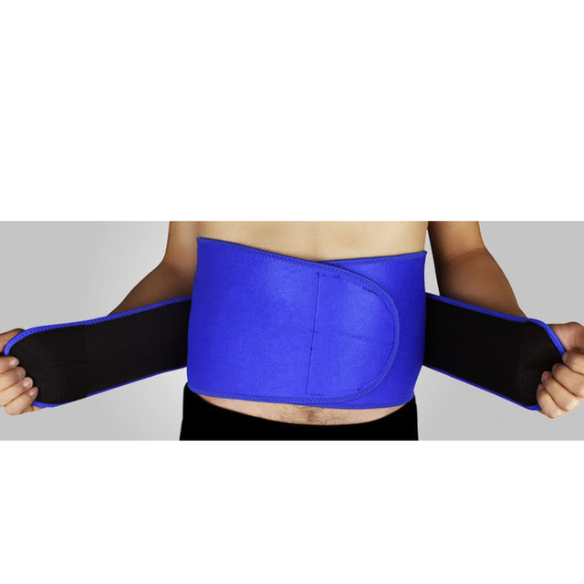 Adjustable Waist Support Brace Trimmer Belt Protector Abdomen Tummy Shaper Trainer Band Wrapper for Gym Sports 3