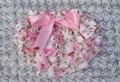 Meninas bonitos Do Bebê Ruffle Calcinhas Bloomers Cover Tecido do bebê Fraldas do bebê Covers PP Pant KP-SB015