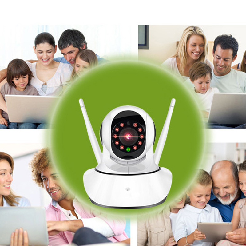 HD! Wireless Wifi IP Security Cam 1080P Indoor Home Surveillance Monitor System