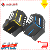 Alocnstar CNC Aluminum Radiator Bezel Grill Grille Guard Cover Protector For Yamaha MT 09 FZ 09