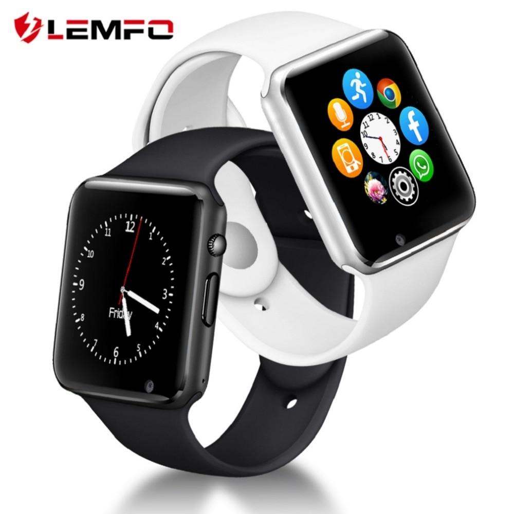 LEMFO Bluetooth Smartwatch The Waterproof Sport Pedometer With SIM Camera Smart Watch Men 2018 Wristwatches Russia