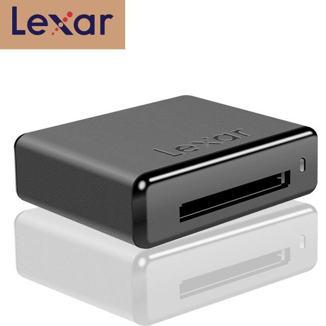 100% オリジナルレキサー USB ドライブ、スマート CF カードリーダー CR1 CFast 2.0 USB 3.0 リーダープロフェッショナルワークフローカードリーダー送料無料