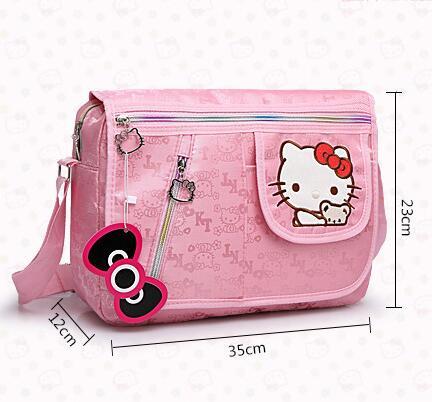 aa7485dbbe75 ... Bowknot Pink Cartoon Cat Baby Girl Should Crossbody Bag Kids Child  Messenger Bags Bolsa de Feminina. Material  PU Leather