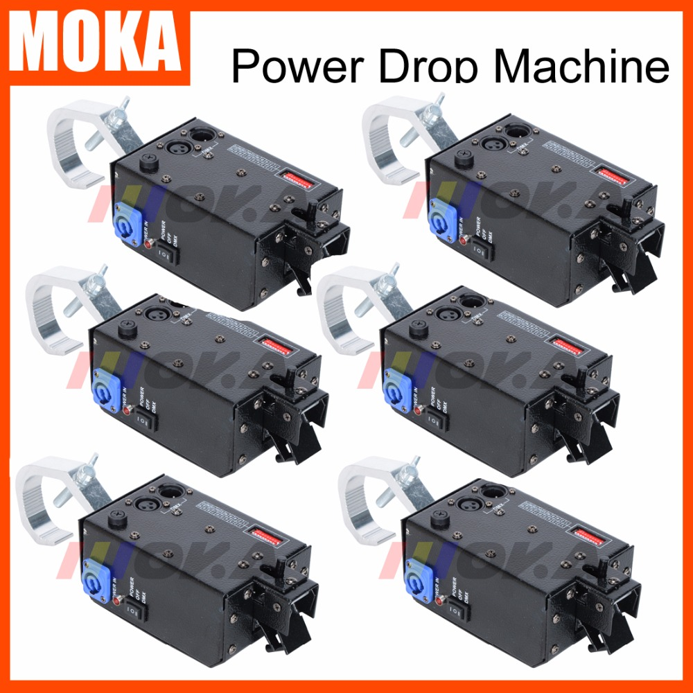 Hot sale 6pcs/lot Power Drop Machine For Stage Star Curtain Stage Power Drop Backdrop CurtainHot sale 6pcs/lot Power Drop Machine For Stage Star Curtain Stage Power Drop Backdrop Curtain