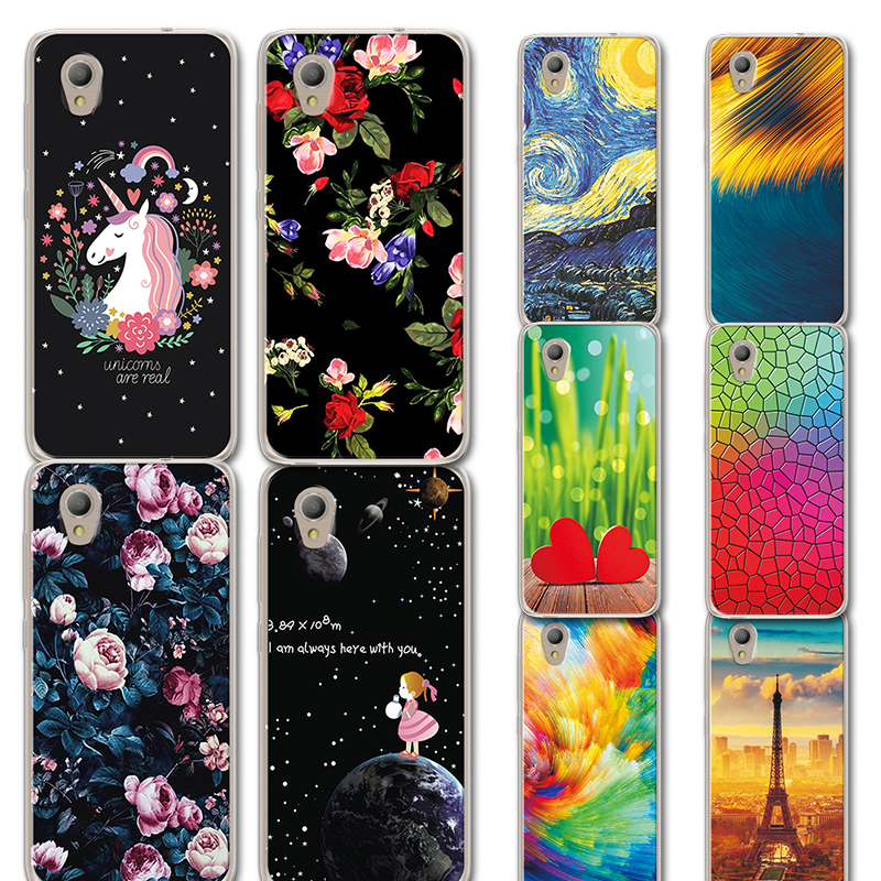 Phone Bags & Cases Qualified Cute Little Horse Phone Case For Alcatel 1 5033d 5033a 5033y 5033x Novelty Flowers Painted Tpu Case Cover For Alcatel 1 5033d 5 Quality And Quantity Assured Cellphones & Telecommunications