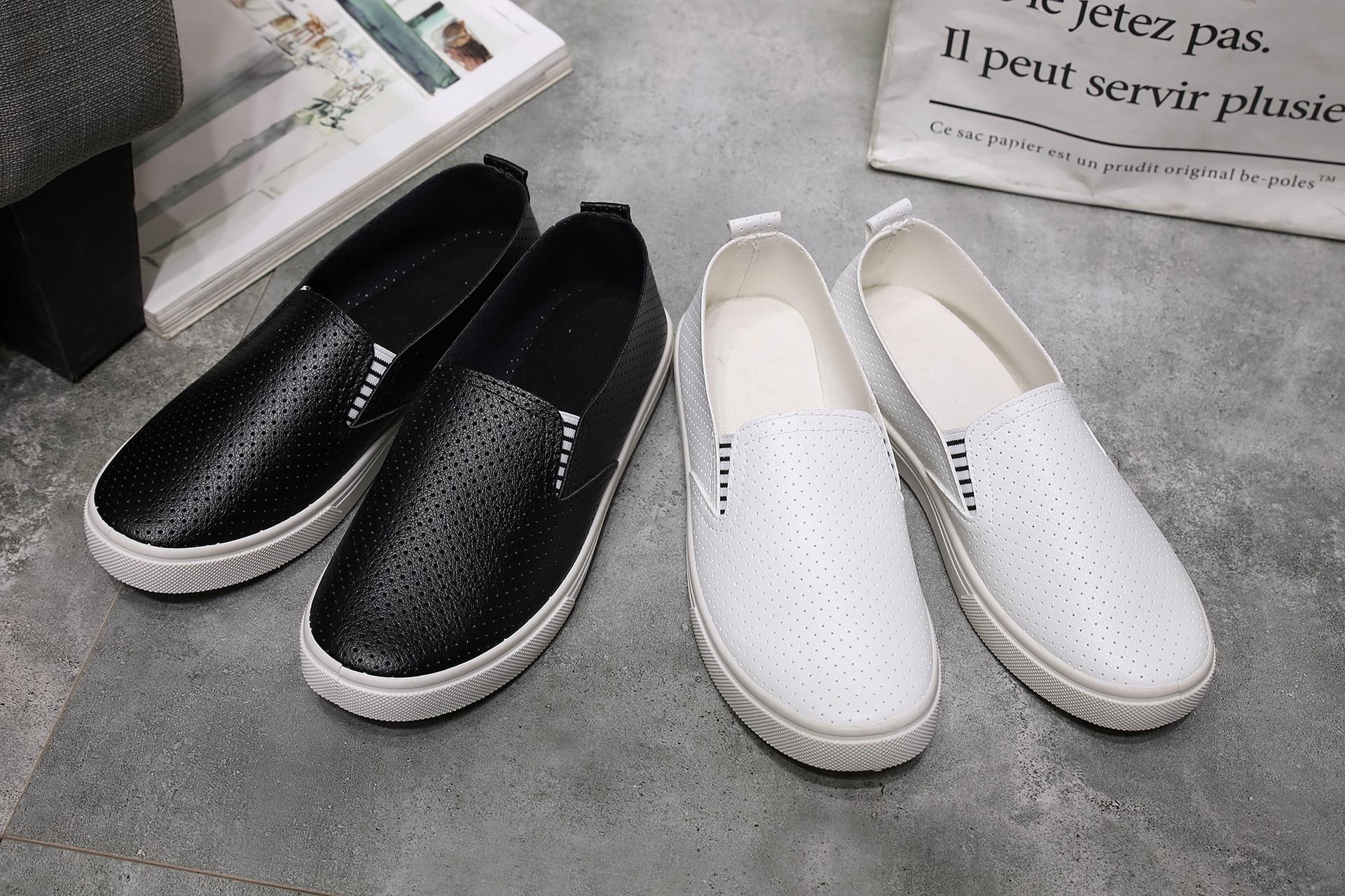 2017 Spring  Autumn Fashion New Shoes PU Small White Shoes Student Shoes Casual Shoes 2017 new fashion spring