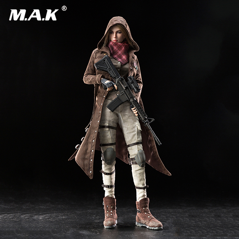For Collection 1/6 Scale Great Escape Windbreaker Female Killer Of Battle Royale MS-002 Action Figure full set doll For Collection 1/6 Scale Great Escape Windbreaker Female Killer Of Battle Royale MS-002 Action Figure full set doll