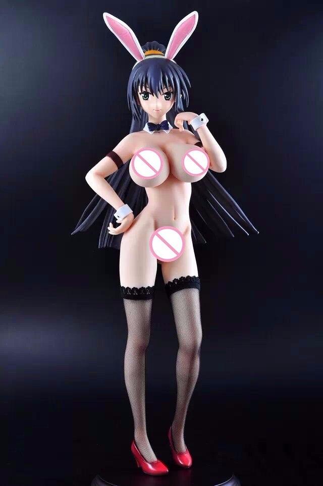 New Super Sonic Figure Headphones Sexy Anime Figure Wave