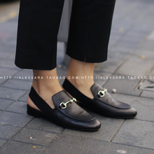 Creepers Direct Selling Full For Grain Basic Dress Medium(b,m) 2016 New Wear Slippers Two Round Flat Semi Metal Women Shoes