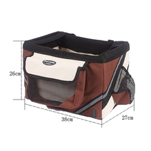 Portable Pet Dog Bicycle Carrier Bag Basket