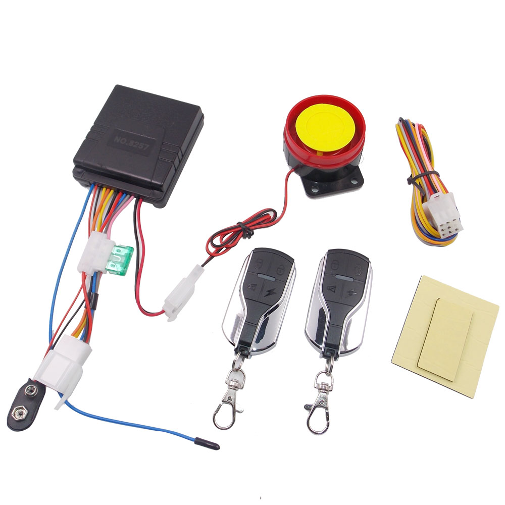 Motorcycle Alarm Motorbike Anti Theft Security Safety