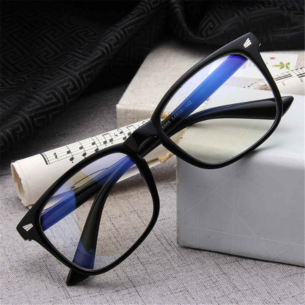 Computer Glasses Spectacle-Frame Clear-Lens Transparent Anti-Blue Women Fashion Ray 1-Pc