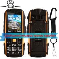 Original NO 1 A9 Dual SIM Card Russian Mobile Phone Dual Standby Flashlight 4800mAh IP67 Waterproof