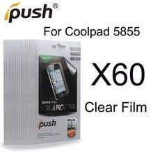 Ясный Протектор Экрана Для Coolpad 5855 Экран Протектор Ipush Пакет Бесплатная Доставка