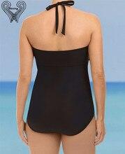 5XL Plus Size Swimwear Women One Piece 2017 Push Up Swimsuit Bandage Swimming Suit For Women Monokini Swim Suits Sexy Bathing