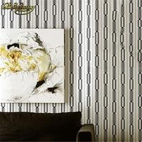 beibehang papel de parede. Brown/yellow stripe background wall wallpaper for tv bedroom living room fine decor pvc vinyl wall