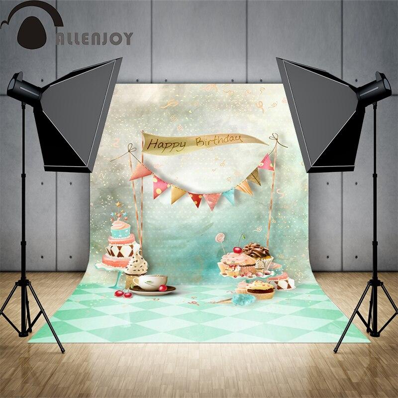 Allenjoy Achtergronden Filmen Gelukkige Verjaardag Broodjes Bakkerij
