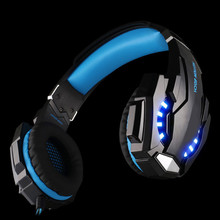 New Original SIFREE G9000 3.5mm Game Gaming Headphone Headset Earphone With Mic LED Light For Laptop Tablet / PS4 / Smartphones