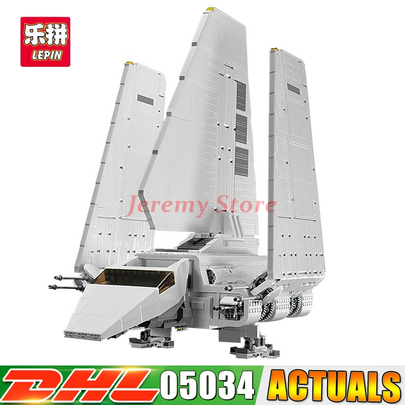 2018 LEPIN 05034 Star Series War The Shuttle Building Assembled Blocks Bricks DIY Educational Classical Toys Compatible 10212 lepin 05040 y attack starfighter wing building block assembled brick star series war toys compatible with 10134 educational gift