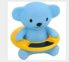 Infant Baby Temperature Water Thermometer Bear Baby Bath Thermometer Duck Dinosaur Baby Tub Toy Temperature Tester Kid Bath Toy цены онлайн