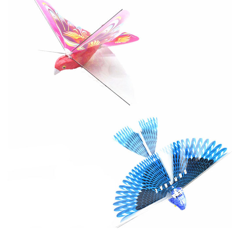 Hot Electric Control DIY Colorful Bird Toy Students Science Project Model Action Figure Toys