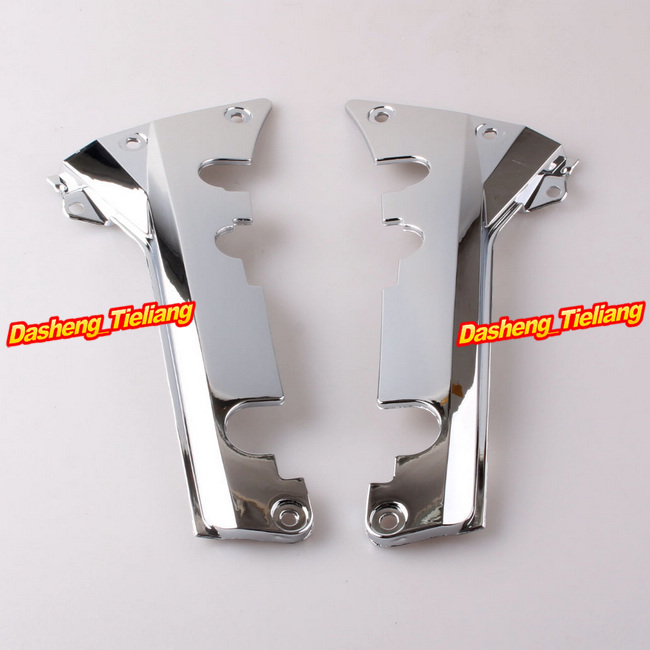 Fairing Lower Rear Frame Cover for Honda Goldwing GL1800 2001-2011 Decoration Boky Kits Parts Accessories Chrome