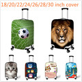 Stylish Elastic 18-30inch Luggage Protective Cover Cute Cat Print Travel Luggage Dust Cover Waterproof Suitcase Cover Tetail