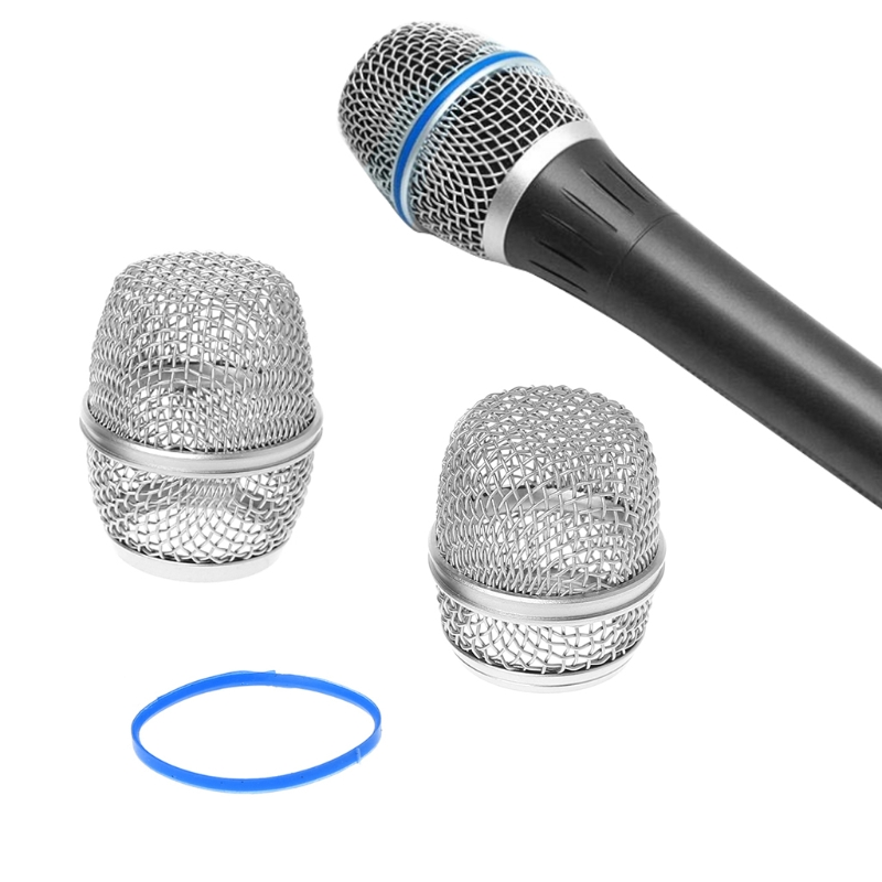 2019 Replacement Ball Head Mesh Microphone Grille Fits For Shure Beta57a/ Beta87a Portable Windscreens Sponge