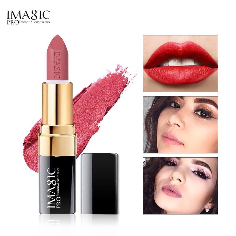 IMAGIC New Arrival Lipstick Matte Lips Stick Waterproof Cosmetic Lips Sexy Makeup