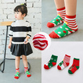 2016 new winther fashion 3pairs baby 1 to10 T children boys socks girls Children warm thick kids christmas socks cartoon cotton