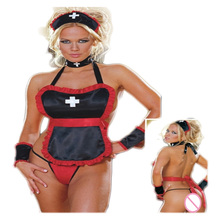 Hot COSPLAY Temptation Nurse Sexy Lingerie Women Costumes font b Sex b font Products Toy Exotic