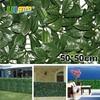 12 Pieces 50cm X 50cm Artificial Plants Fence Plastic Garden Fence Privacy Screen Outdoor Decorative Artificial
