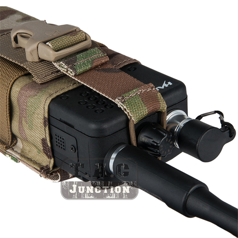 Image 3 - Emerson Tactical Radio Pouch for  MBITR PRC148 152 with Molle Strap EM8336 EMERSONGEAR MOLLE Radio Pouch for JPC,AVS.CPC Vest-in Pouches from Sports & Entertainment