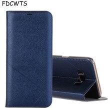 FDCWTS ฝาครอบหนังสำหรับ Samsung Galaxy S8 Case plus ป้องกันกระเป๋าสตางค์โทรศัพท์สำหรับ Galaxy S8 Plus Coque