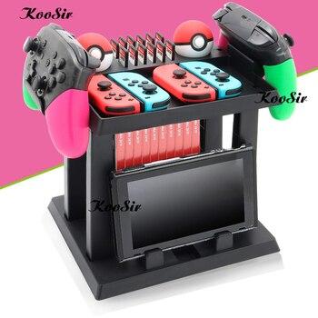 Nintendos Nintend Switch Accessories Games Disc Stand & Joycon & TV Dock Storage Bracket Holder Tower for Nintendo Switch 1