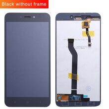 Tela de toque e display lcd para xiaomi redmi 5a digitador sensor vidro assembléia painel livre vidro temperado e ferramentas