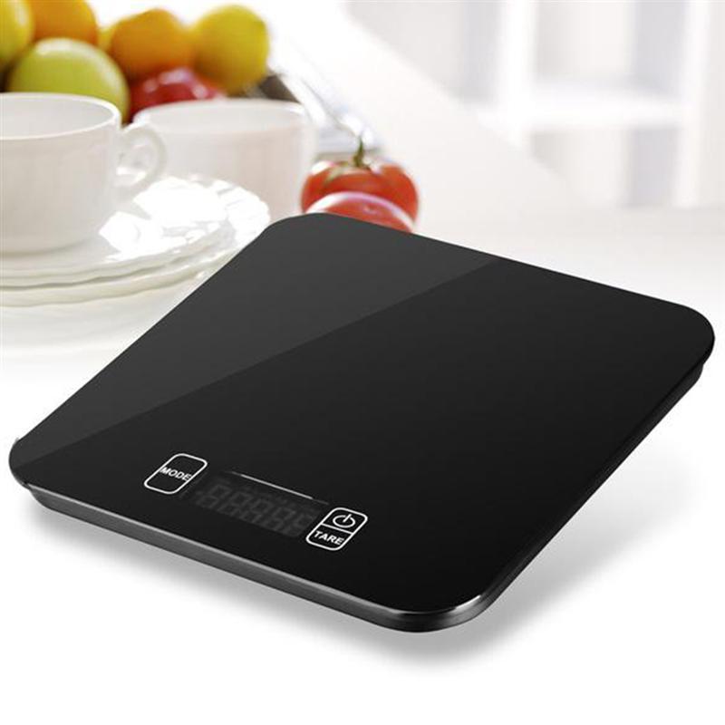 15kg Multifunctionele Voedsel Schaal Digitale Keukenweegschaal Voor Koken Met Grote Back-lit Lcd Display Het Hele Systeem Versterken En Versterken