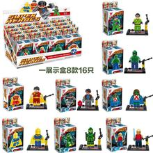 Free Shopping 480pcs DC Super Hero Minifigures Building Blocks Sets Model Bricks DIY Toys Decool Compatible original box D856