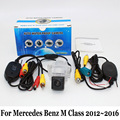 For Mercedes Benz M ML Class W166 2012~2015 / RCA Wired Or Wireless / Night Vision Rear View Camera / HD Wide Lens Angle Camera