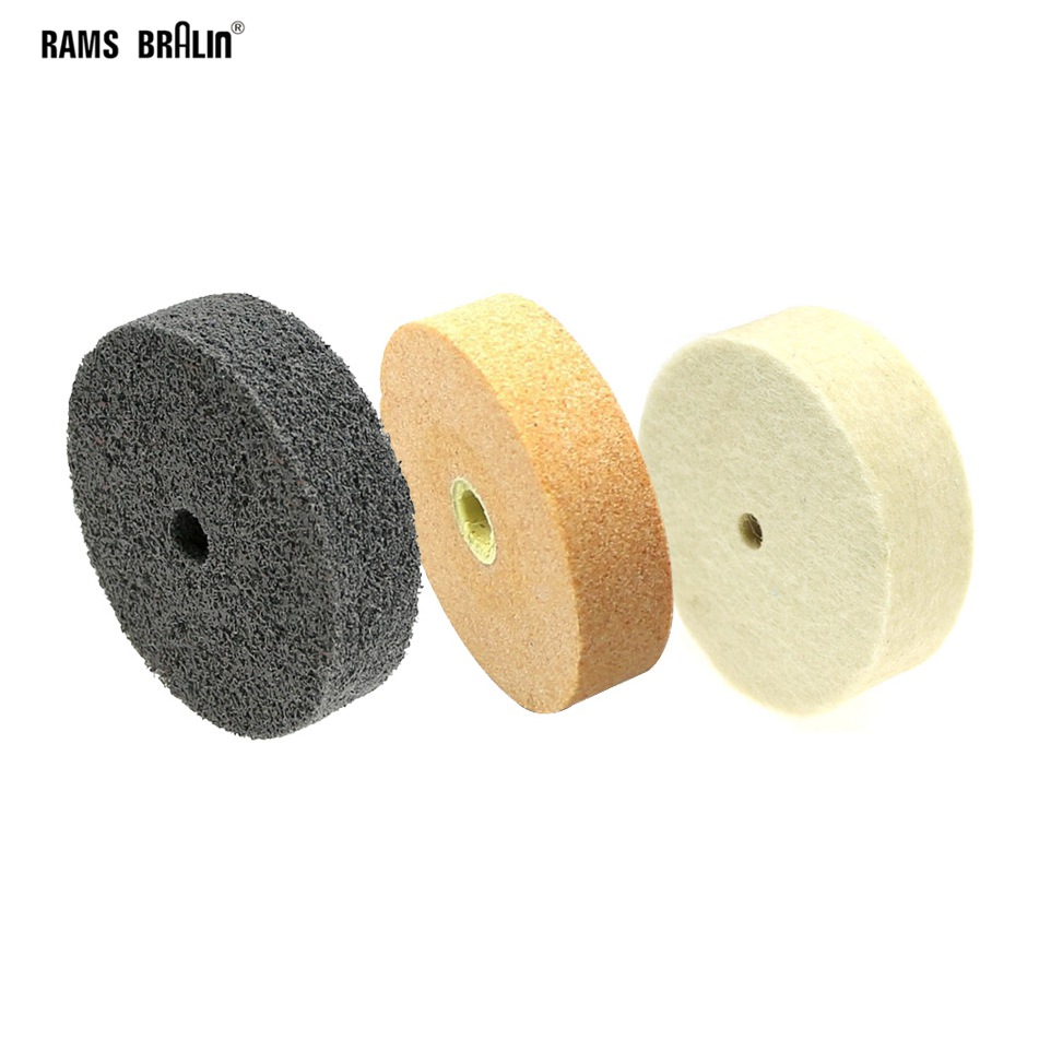 4Inch Fiber Wheels Nylon Wheel Bowl Polishing Abrasive Discs Thickness 10mm 5Pcs