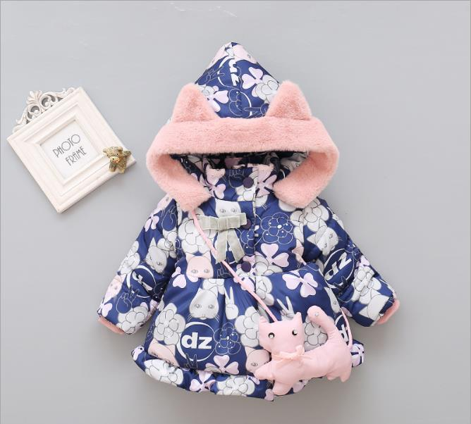 Hoodies Snow-Wear Baby Winter Infant New 0-24month MA0000019 Girl's Cheapest High-Quality