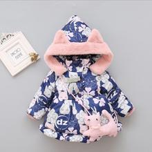 Новинка года, самая дешевая зимняя одежда высокого качества для маленьких девочек от 0 до 24 месяцев Милые Толстовки для малышей, MA0000019