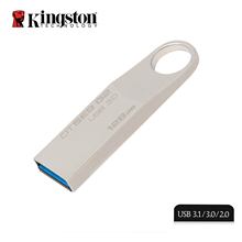 Kingston metal ring memory usb 3.0 usb flash drive 128gb high speed pen drive for mobile phone tablet PC
