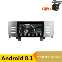 9 2.5D IPS Android 8.1 Car DVD Multimedia Player GPS For Toyota Reiz Mark x 2007 2008 2009 audio car radio stereo navigation