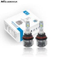MALUOKASA V1 Auto H15 Hi Lo LED Headlight H1 H4 H7 H8 H11 9006 9012 36W